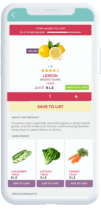 The Grocery Shop Case Study | Grocery Delivery App by Octal